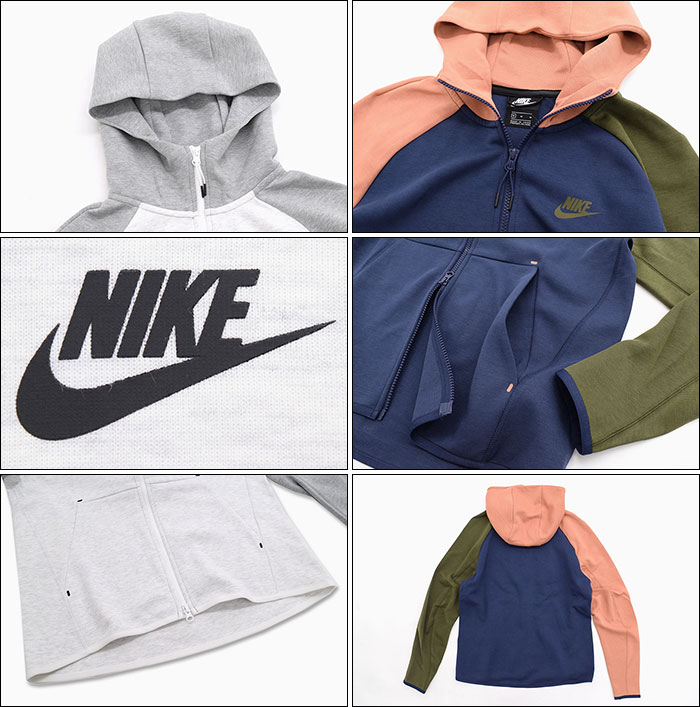 NIKEナイキのパーカー Tech Fleece Full Zip Hoodie05