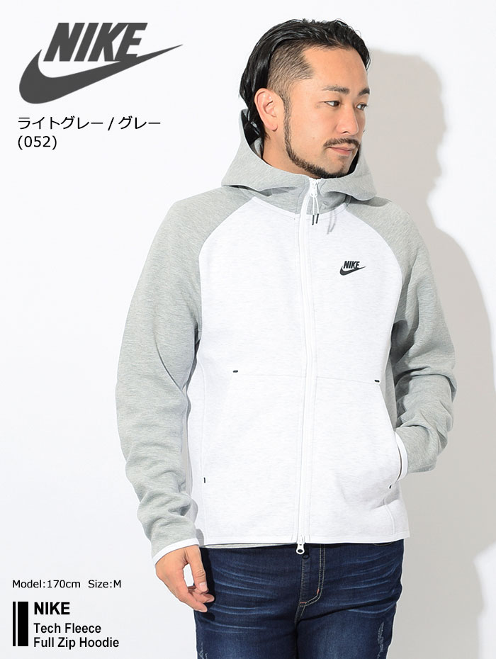 NIKEナイキのパーカー Tech Fleece Full Zip Hoodie01