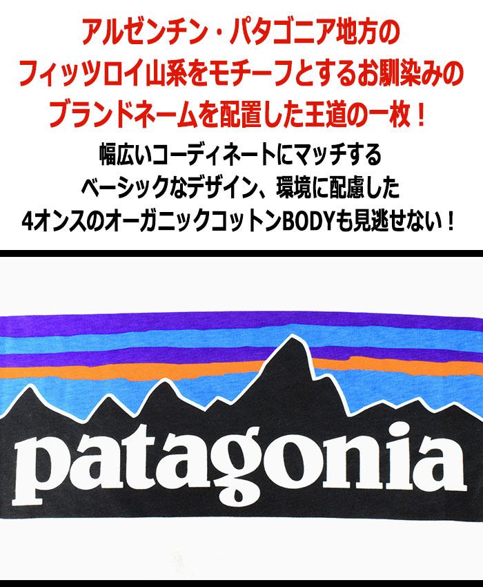 PatagoniaパタゴニアのTシャツ P-6 Logo Organic02