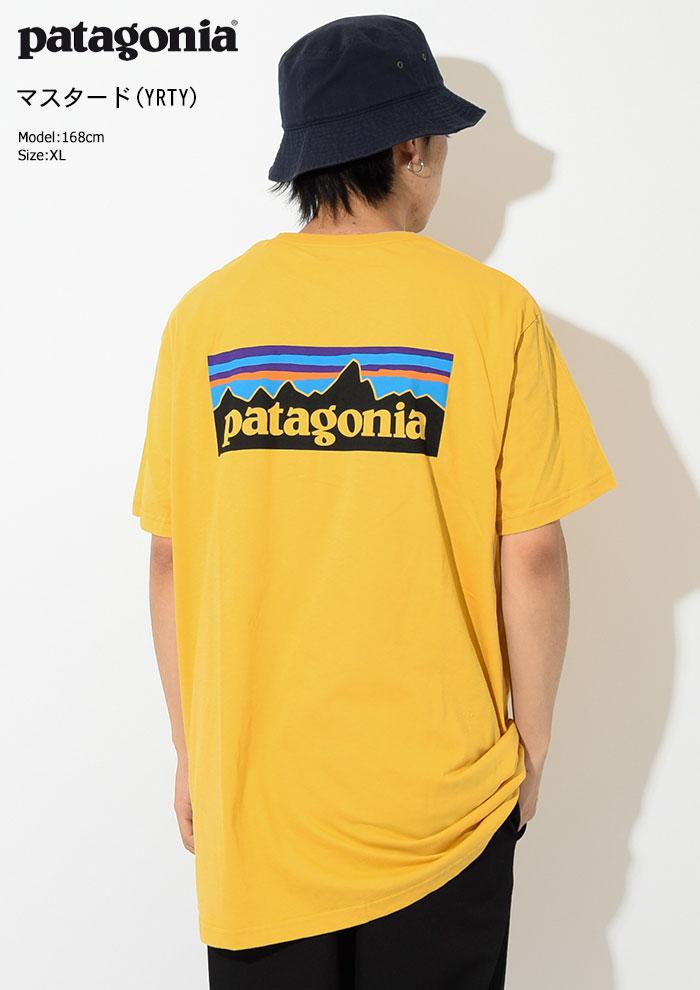 PatagoniaパタゴニアのTシャツ P-6 Logo Organic06
