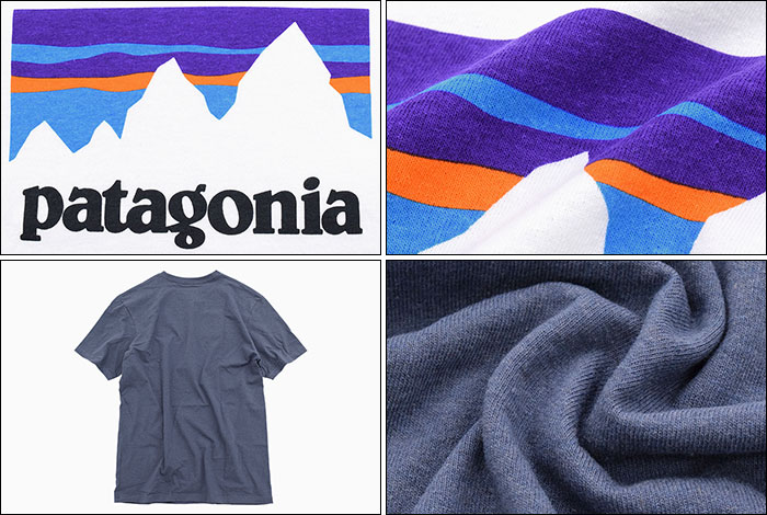 PatagoniaパタゴニアのTシャツ Shop Sticker Responsibili10
