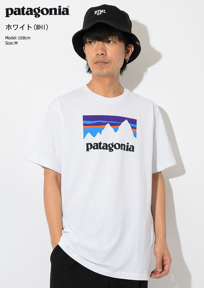 PatagoniaパタゴニアのTシャツ Shop Sticker Responsibili03