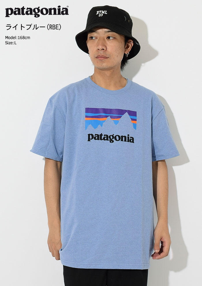 PatagoniaパタゴニアのTシャツ Shop Sticker Responsibili05
