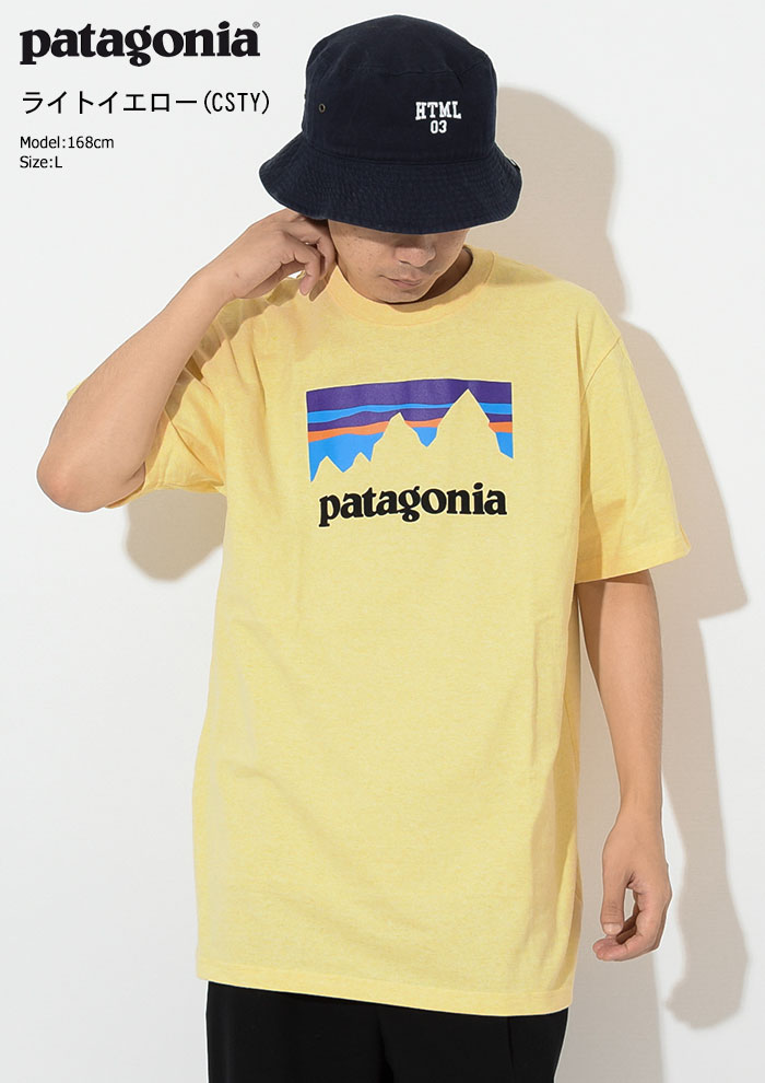 PatagoniaパタゴニアのTシャツ Shop Sticker Responsibili06