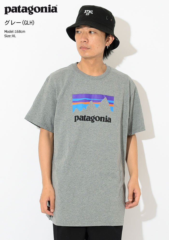 PatagoniaパタゴニアのTシャツ Shop Sticker Responsibili07