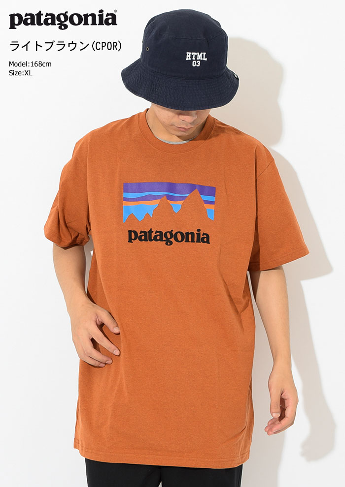 PatagoniaパタゴニアのTシャツ Shop Sticker Responsibili08