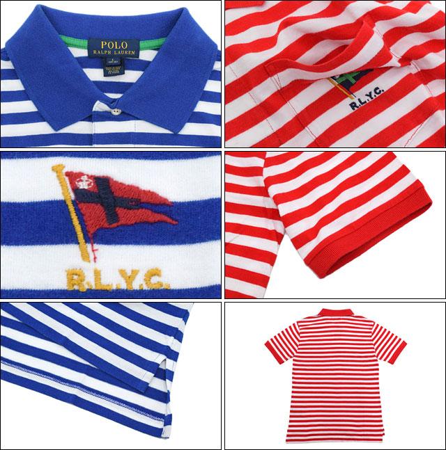 POLO RALPH LAURENポロラルフローレンのポロシャツ Striped Cotton03
