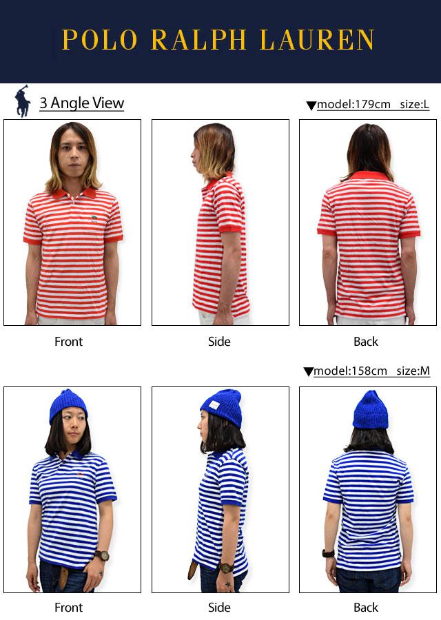 POLO RALPH LAURENポロラルフローレンのポロシャツ Striped Cotton02