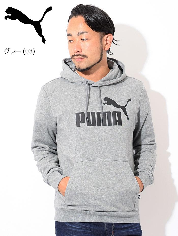 PUMAプーマのパーカー ESS Big Logo Pullover Hoodie05
