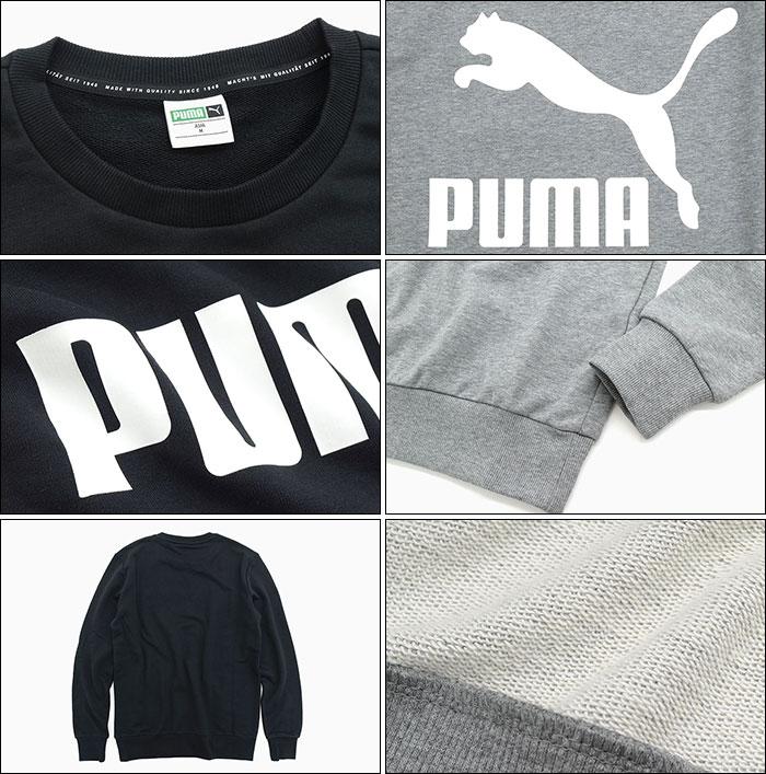 PUMAプーマのトレーナー Classics Logo Crew Sweat03