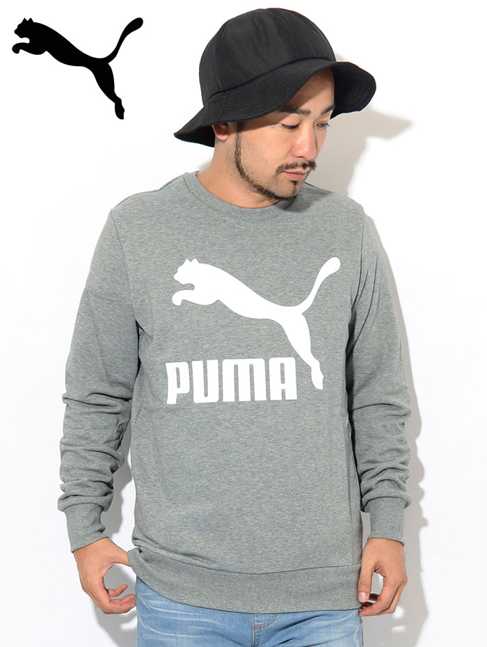 PUMAプーマのトレーナー Classics Logo Crew Sweat02