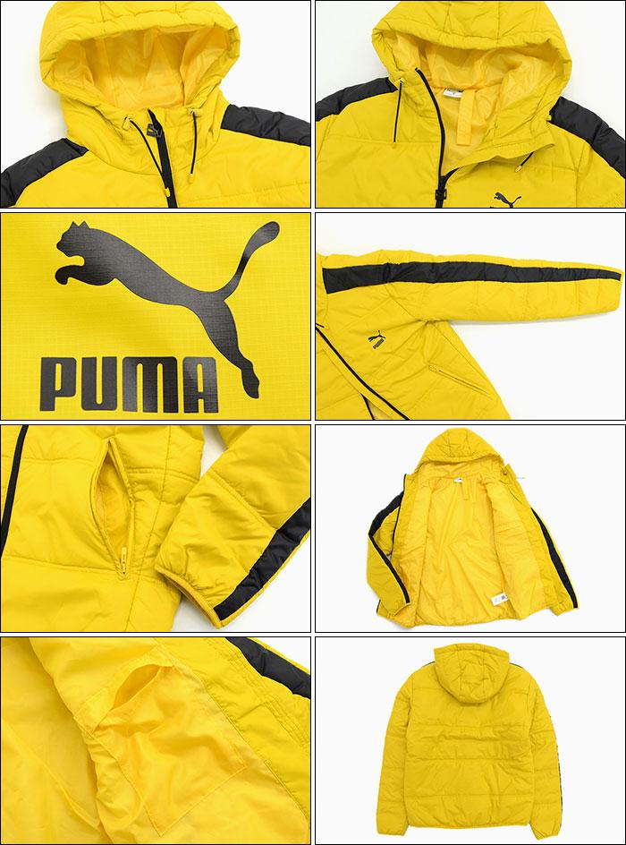 PUMAプーマのジャケット Classics T7 Padded06