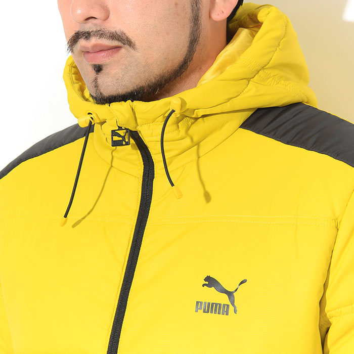 PUMAプーマのジャケット Classics T7 Padded05