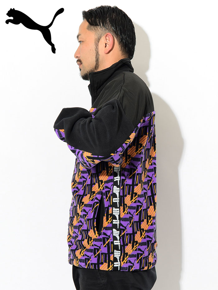 PUMAプーマのジャケット PUMA XTG AOP Woven03
