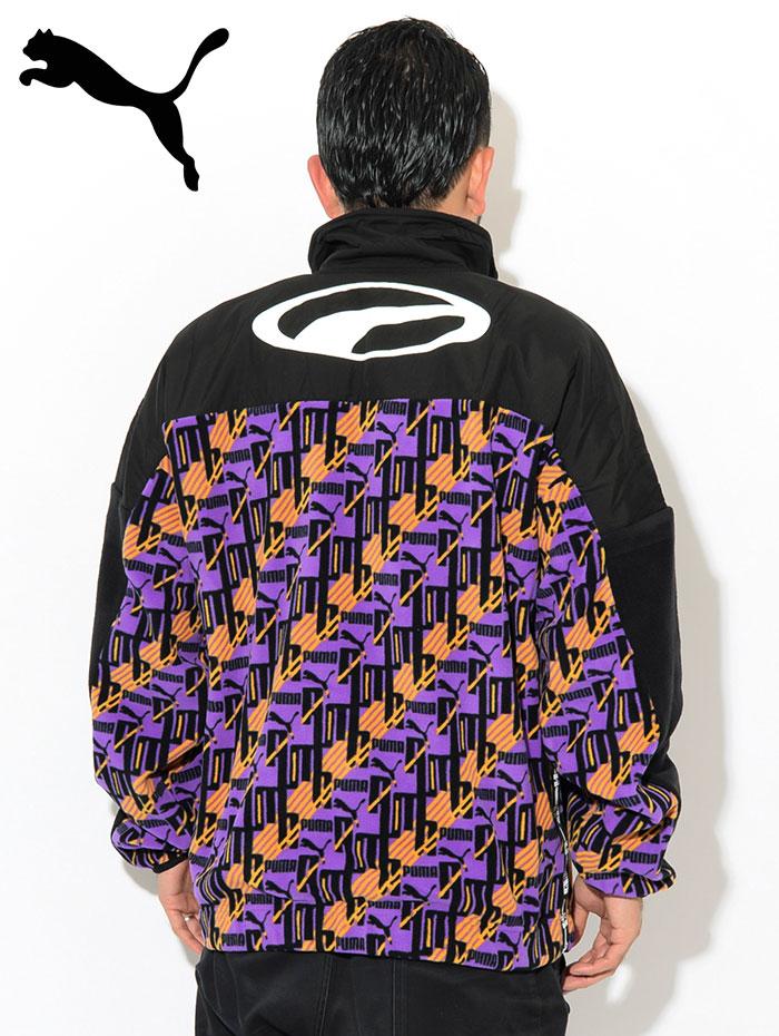 PUMAプーマのジャケット PUMA XTG AOP Woven04