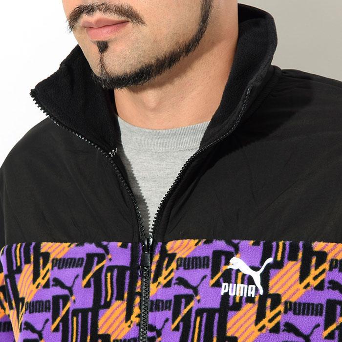 PUMAプーマのジャケット PUMA XTG AOP Woven05