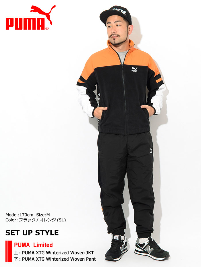 PUMAプーマのジャケット PUMA XTG Winterized Woven01