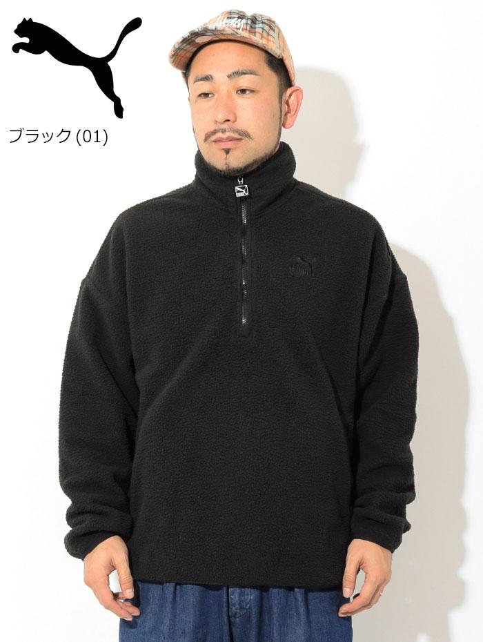 PUMAプーマのジャケット Winter Classics Half Zip Fleece02