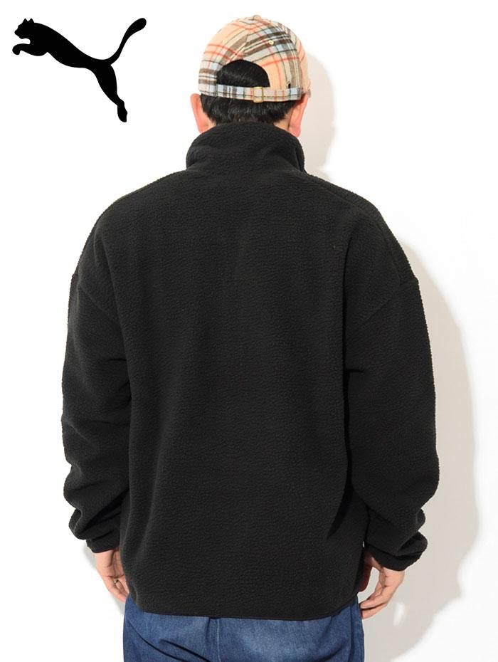 PUMAプーマのジャケット Winter Classics Half Zip Fleece03