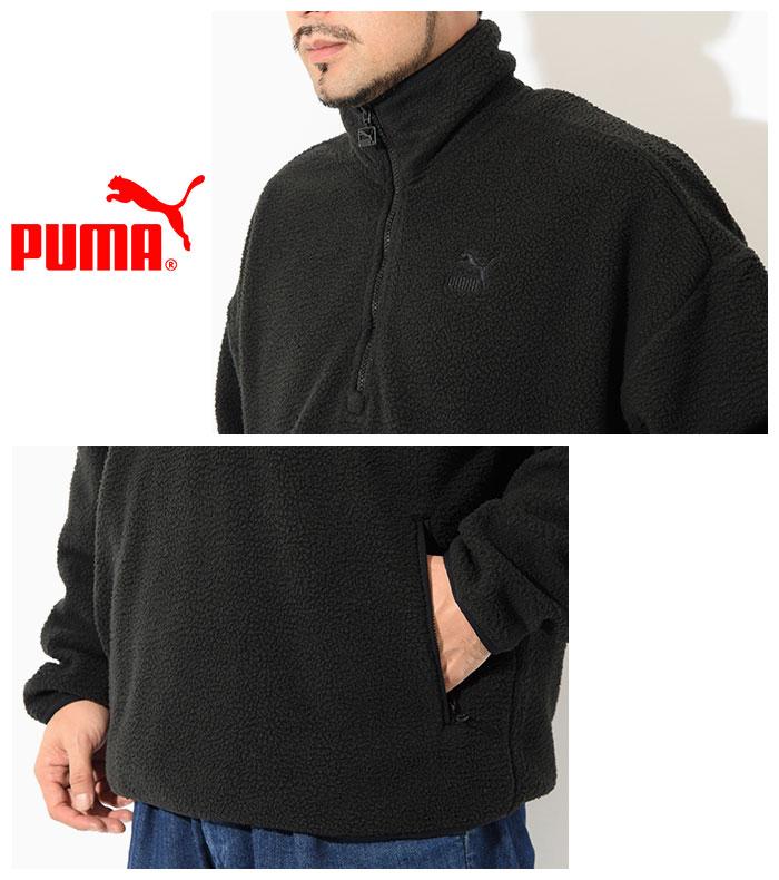 PUMAプーマのジャケット Winter Classics Half Zip Fleece05
