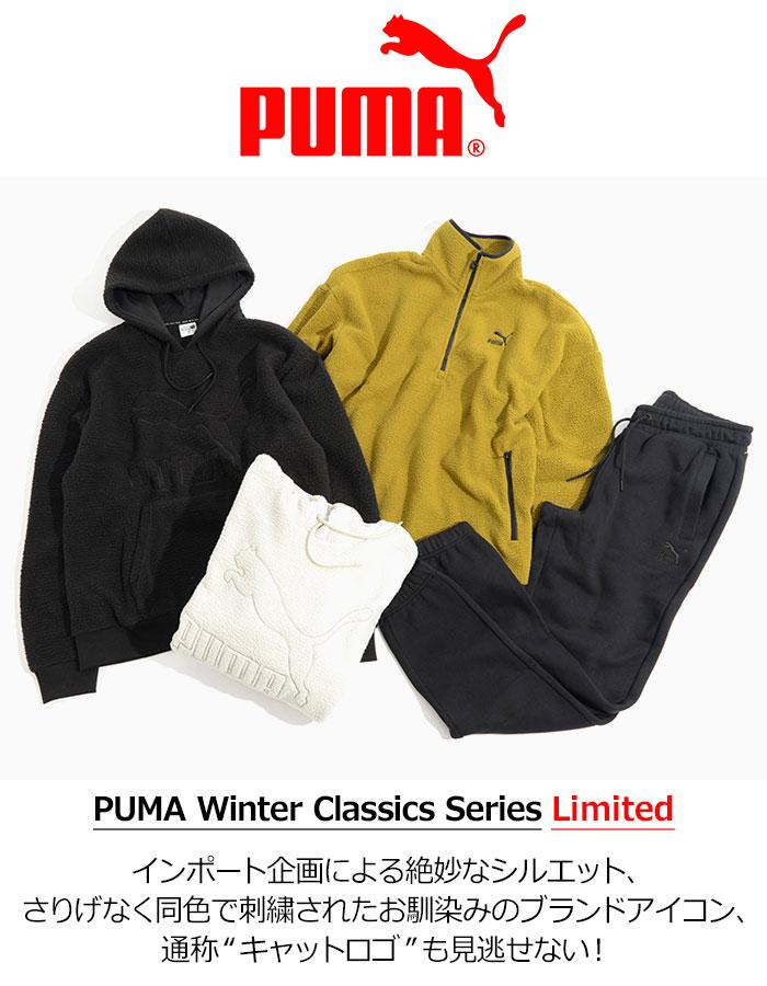 PUMAプーマのジャケット Winter Classics Half Zip Fleece07