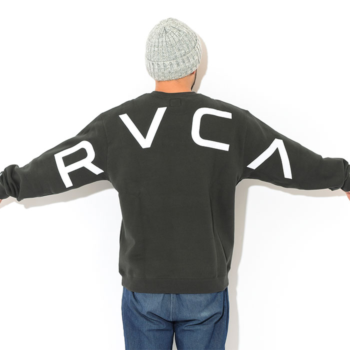 RVCAルーカのトレーナー Fake Crew Sweat04