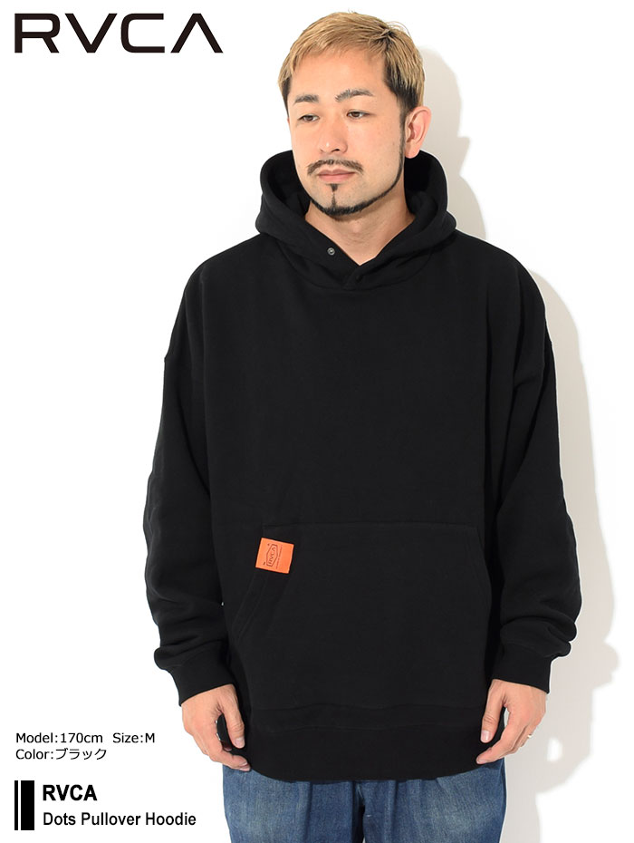 RVCAルーカのパーカー Dots Pullover Hoodie01