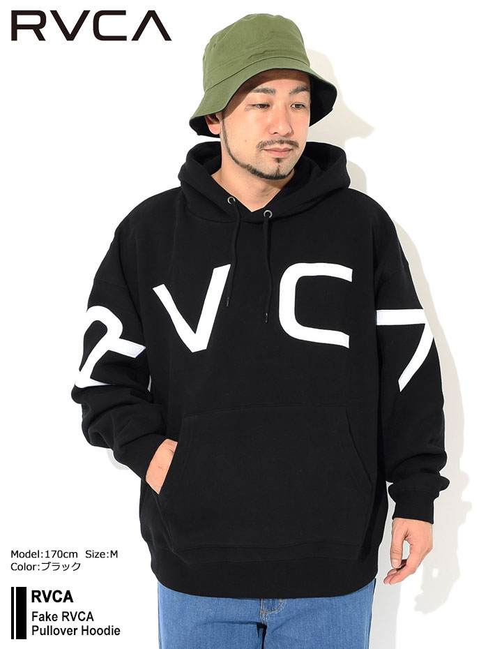 RVCAルーカのパーカー Fake RVCA Pullover Hoodie01
