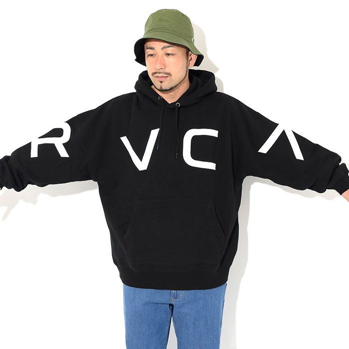 RVCAルーカのパーカー Fake RVCA Pullover Hoodie02