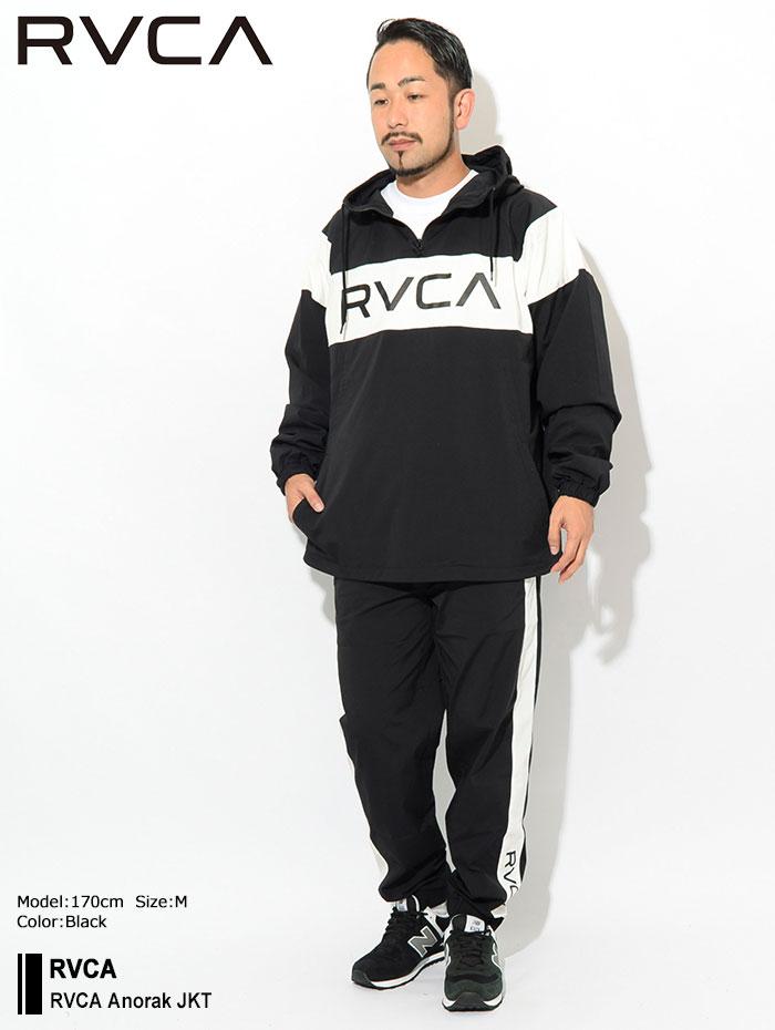 RVCAルーカのジャケット RVCA Anorak01