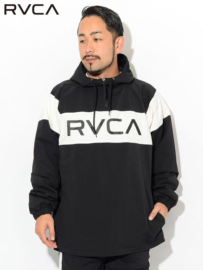 RVCAルーカのジャケット RVCA Anorak02