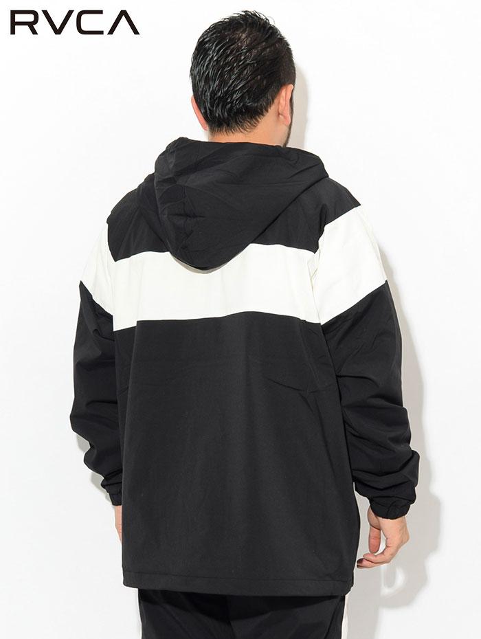 RVCAルーカのジャケット RVCA Anorak03