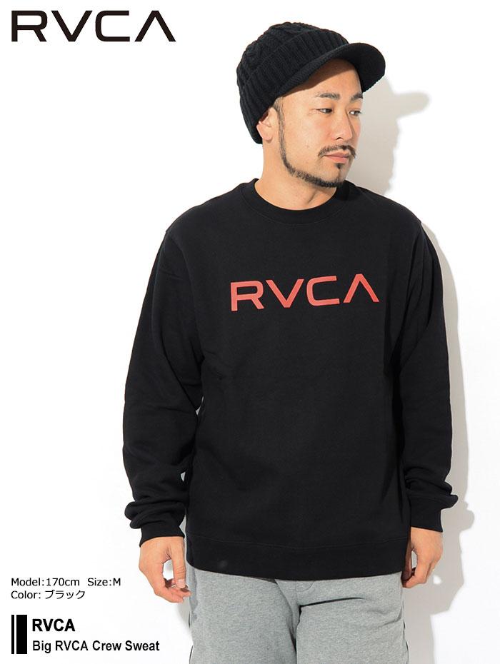 RVCAルーカのトレーナー Big RVCA Crew Sweat01