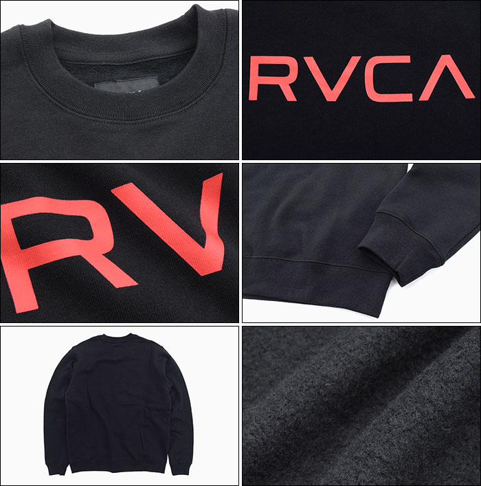 RVCAルーカのトレーナー Big RVCA Crew Sweat02