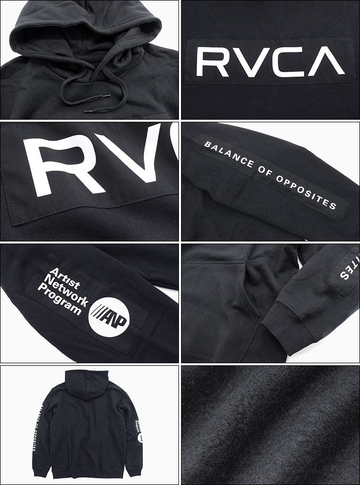 RVCAルーカのパーカー Patch RVCA Pullover Hoodie03