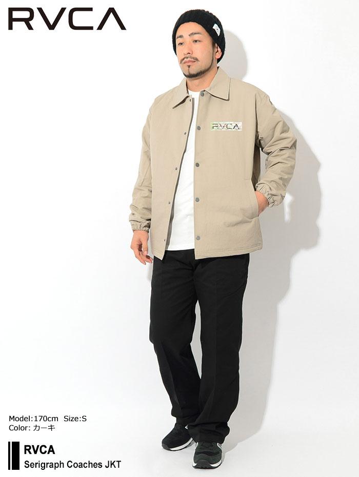 RVCAルーカのジャケット Serigraph Coaches01