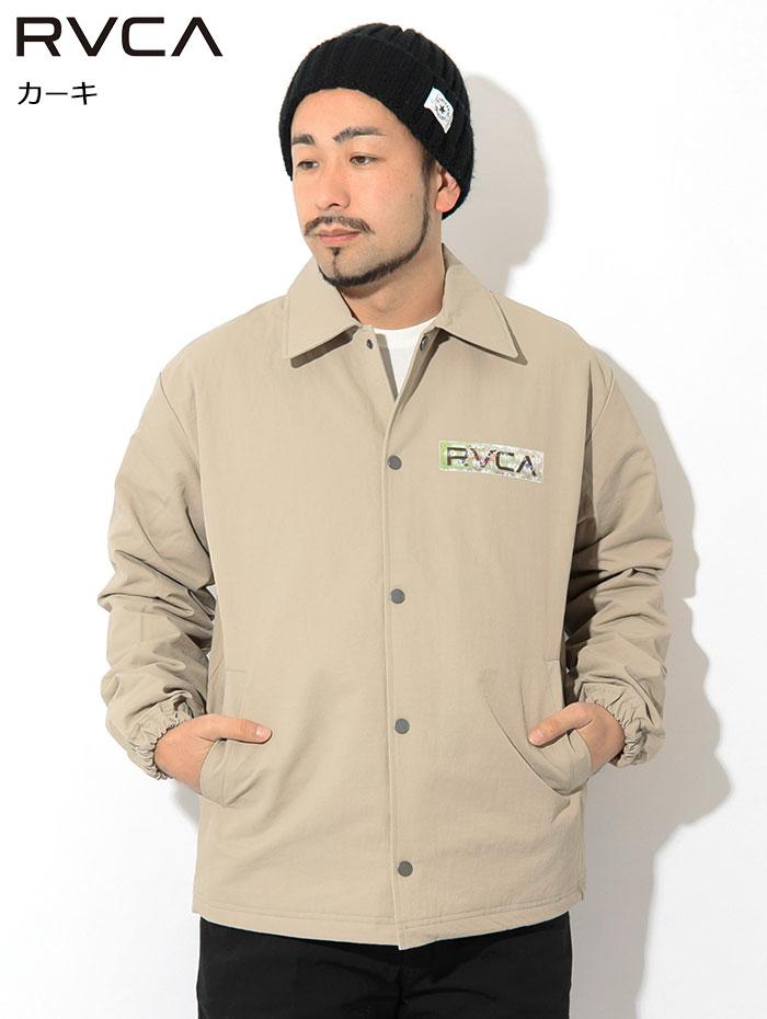 RVCAルーカのジャケット Serigraph Coaches02