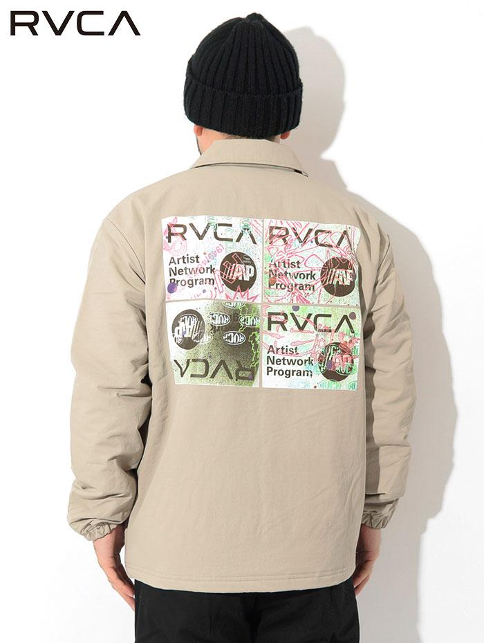 RVCAルーカのジャケット Serigraph Coaches03