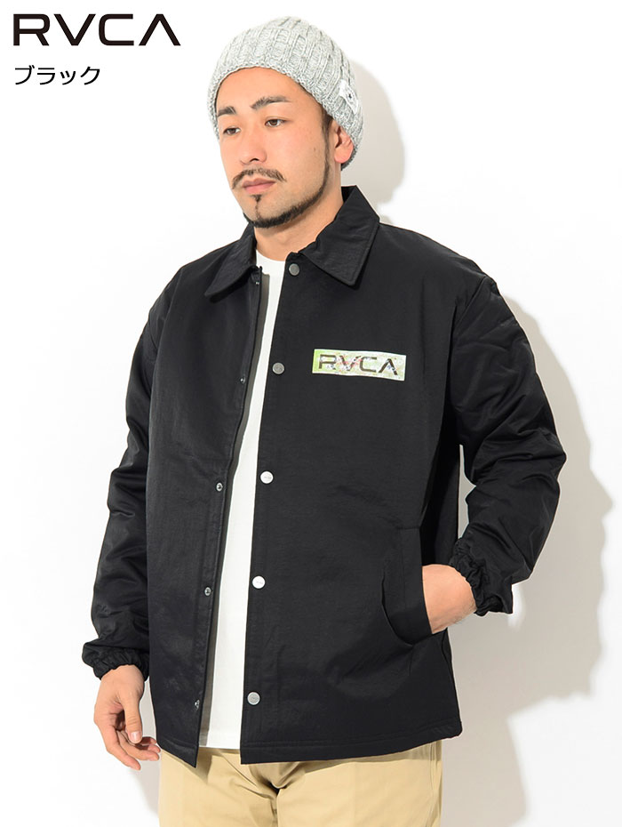 RVCAルーカのジャケット Serigraph Coaches04