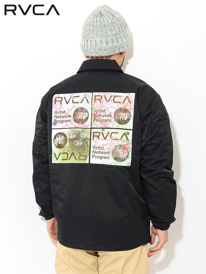 RVCAルーカのジャケット Serigraph Coaches05