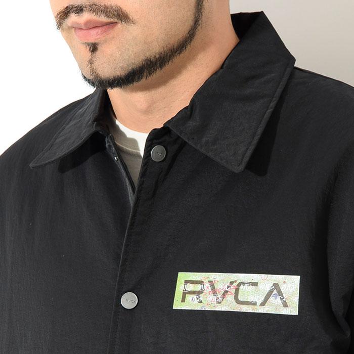 RVCAルーカのジャケット Serigraph Coaches06