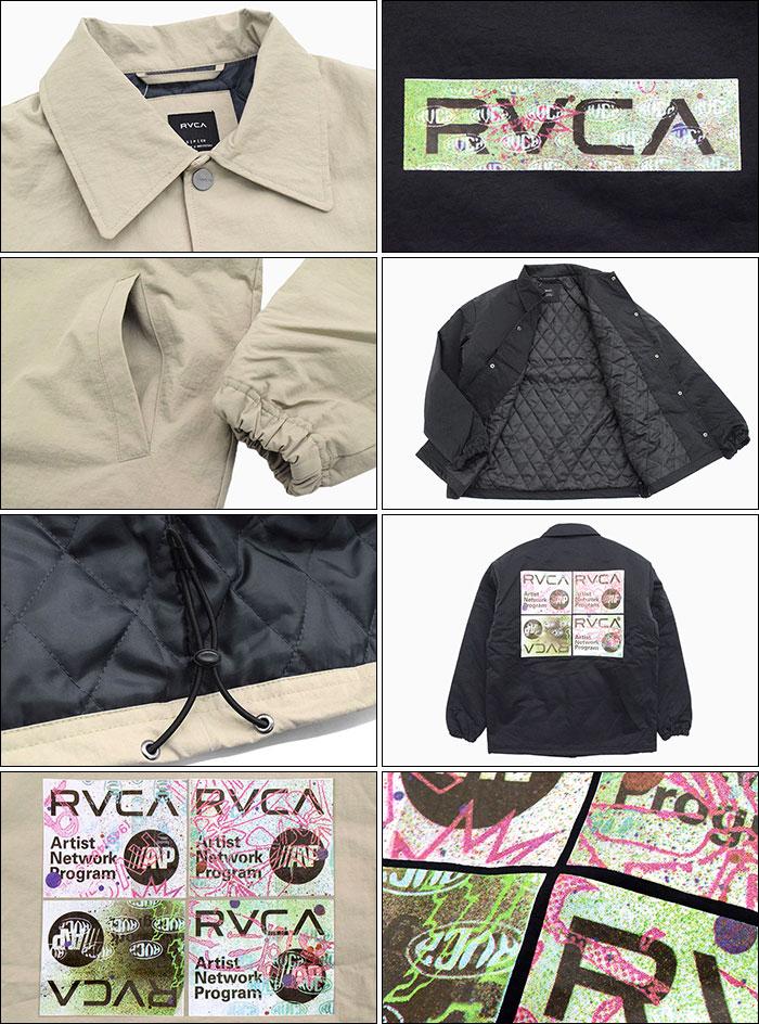 RVCAルーカのジャケット Serigraph Coaches07