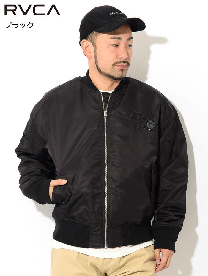 RVCAルーカのジャケット Balance Rose MA-1 02