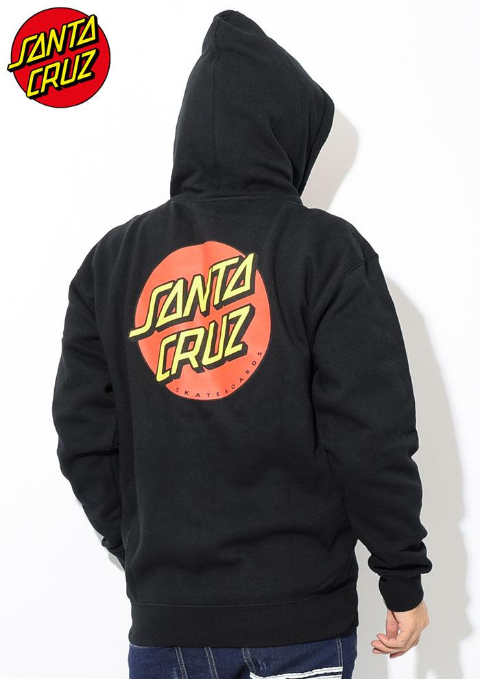 SANTA CRUZサンタクルーズのパーカー Classic Dot Full Zip Hoodie02