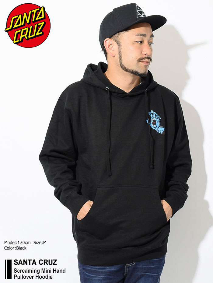 SANTA CRUZサンタクルーズのパーカー Screaming Mini Hand Pullover Hoodie01