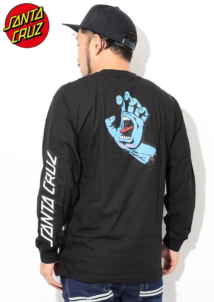 SANTA CRUZサンタクルーズのTシャツ Screaming Hand02