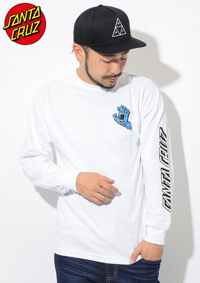 SANTA CRUZサンタクルーズのTシャツ Screaming Hand03