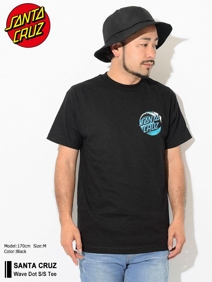 SANTA CRUZサンタクルーズのTシャツ Wave Dot01
