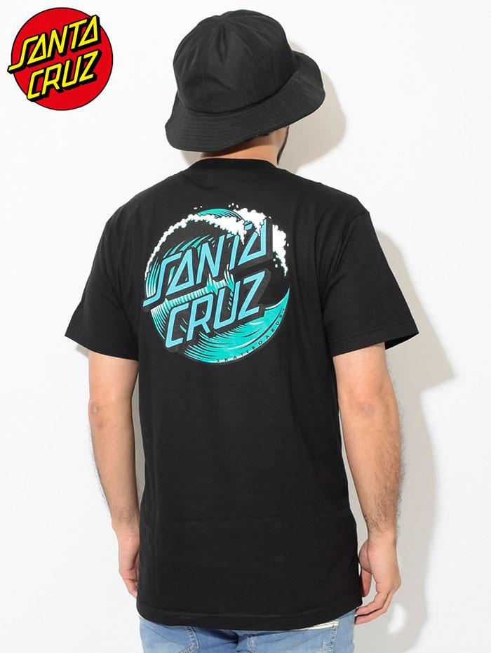 SANTA CRUZサンタクルーズのTシャツ Wave Dot02