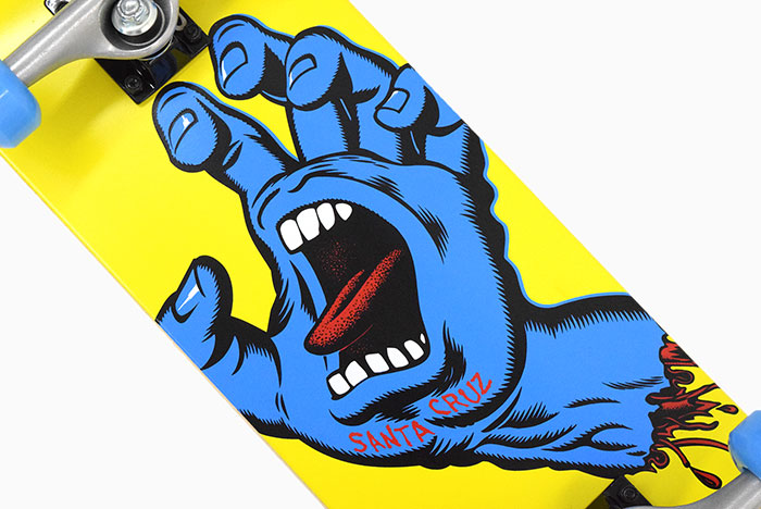 SANTA CRUZサンタクルーズのスケボー Screaming Hand03